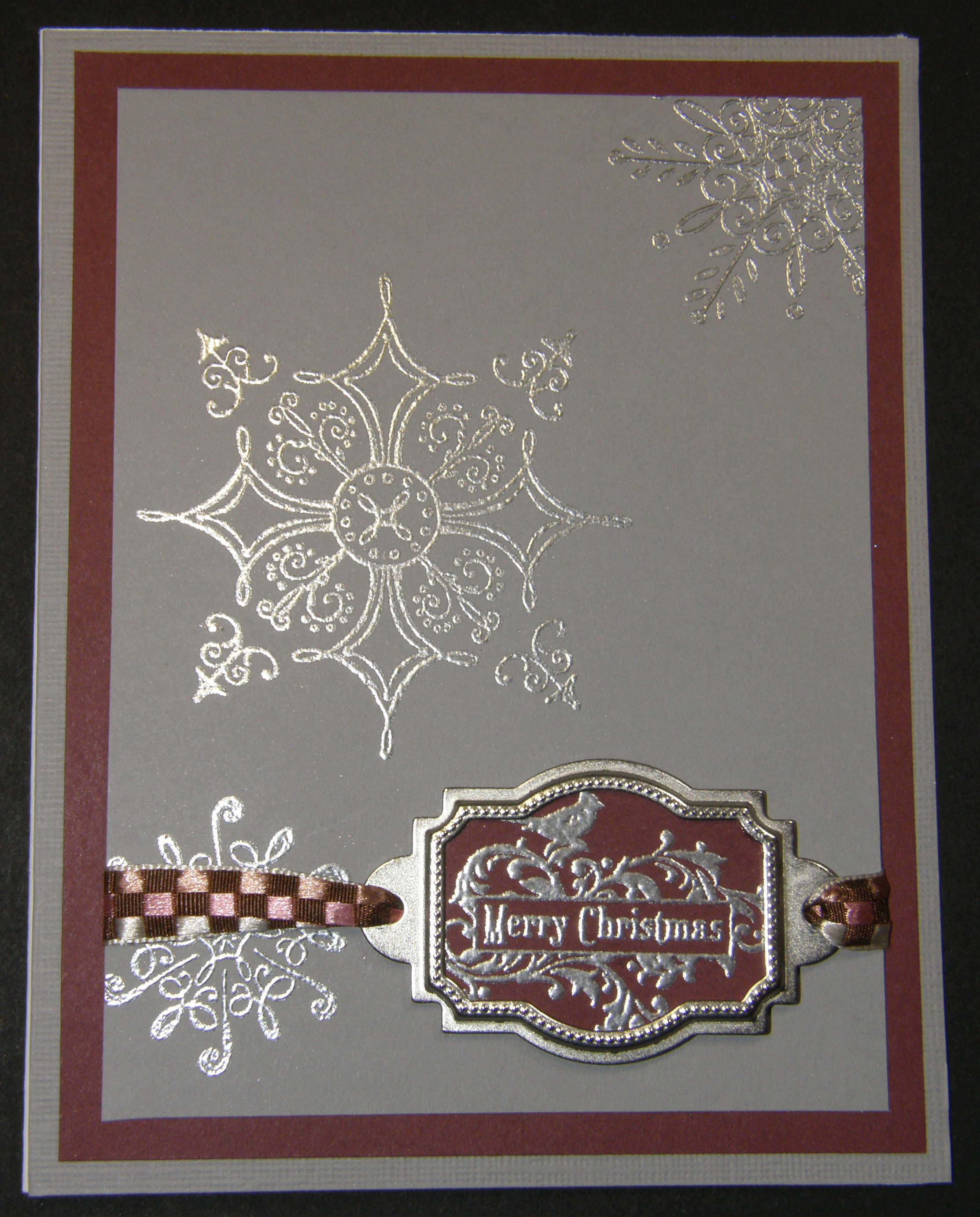 Embossing So Creative Cards