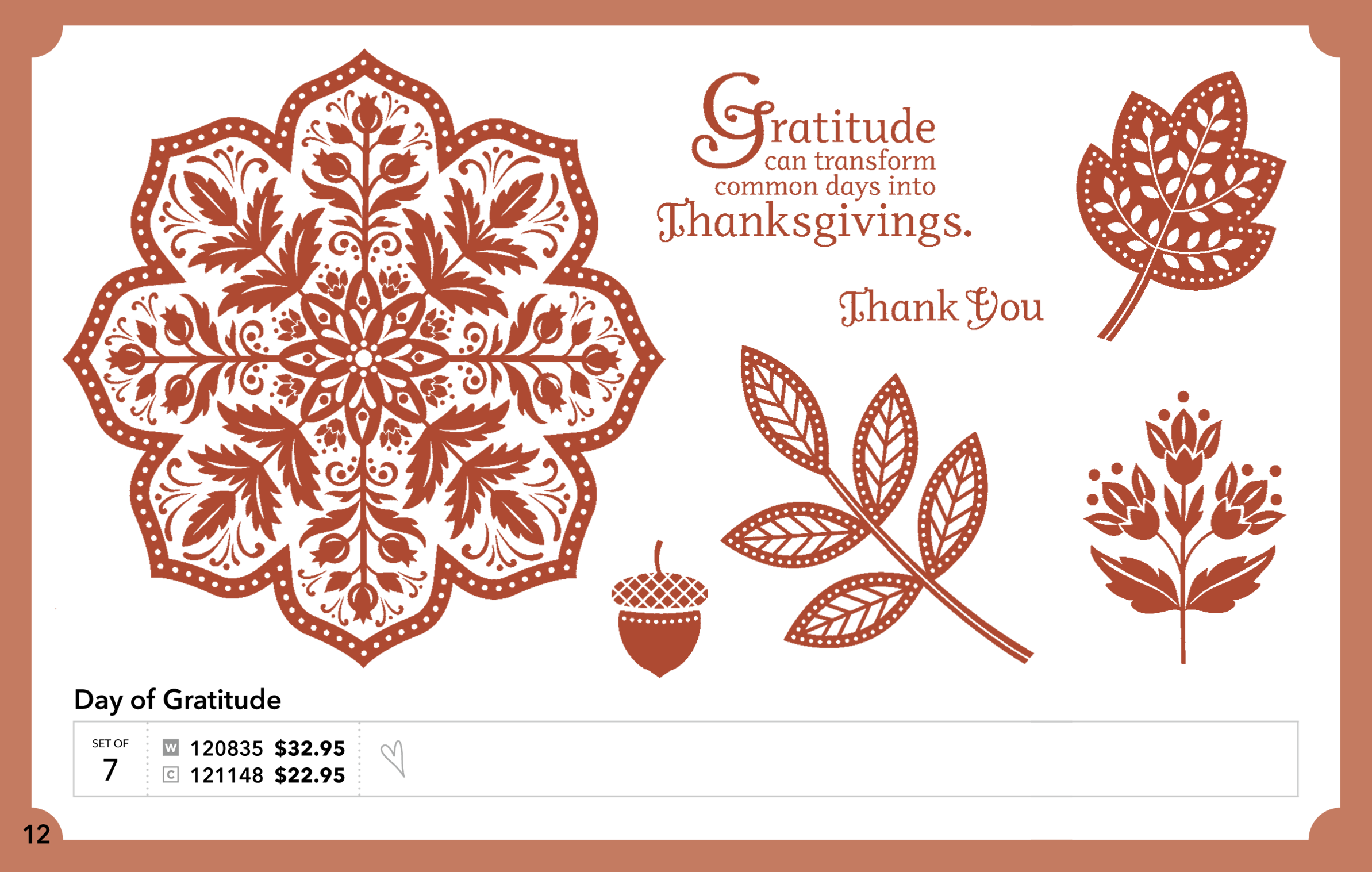 Day of Gratitude Stamp Set   So Creative Cards