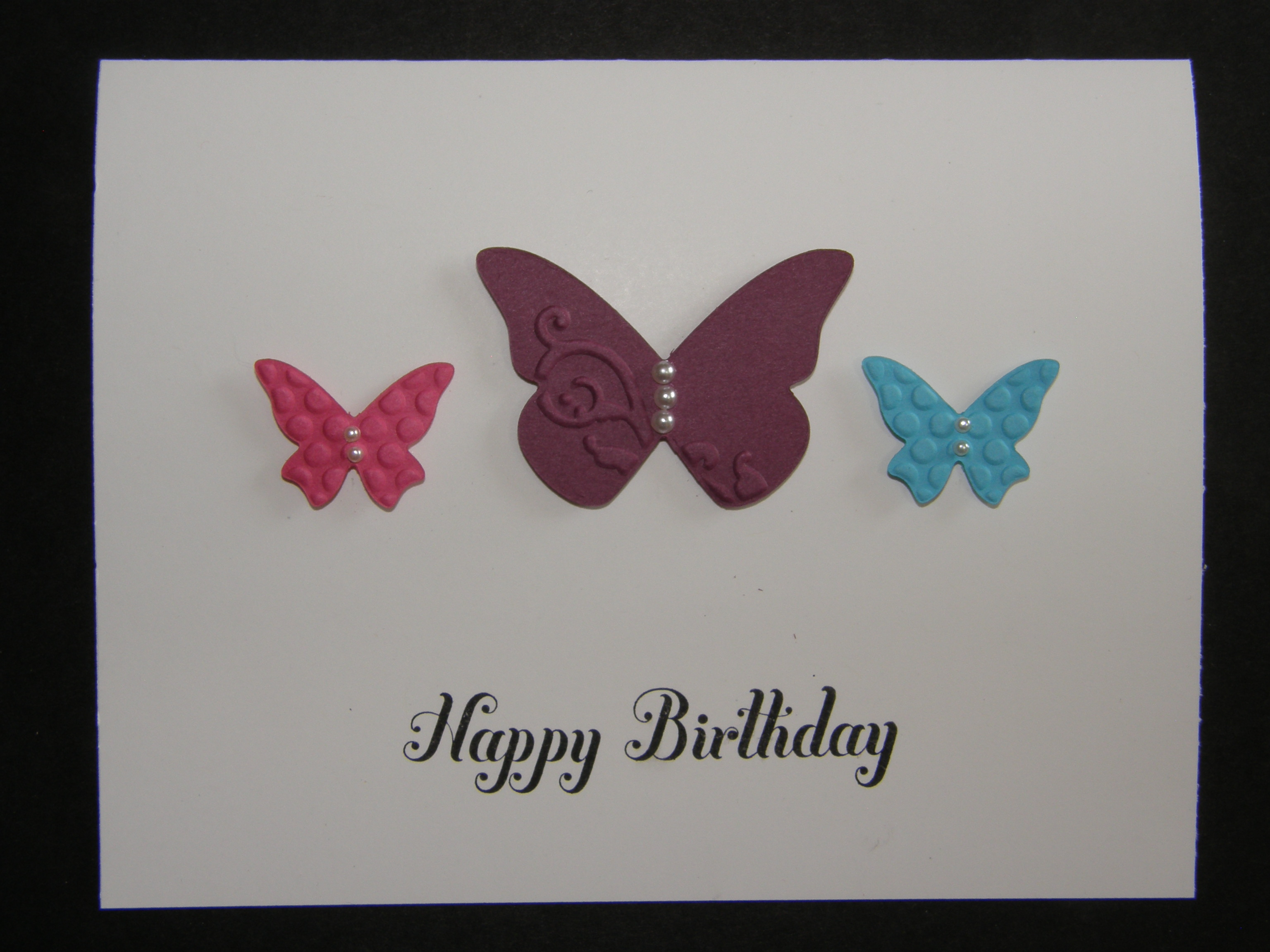 Beautiful Wings Embosslit So Creative Cards
